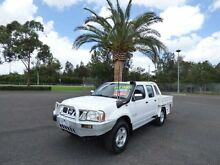 2005 Nissan Navara D22 S2 ST-R White 5 Speed Manual Utility Cabramatta Fairfield Area Preview