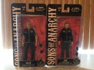 Figurines Sons of Anarchy , 6 po, Jax et Clay, la pair pour $ 25