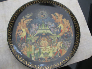 THE FISHERMAN AND THE MAGIC FISH - collector plates