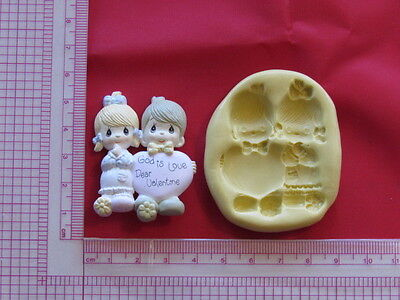 Baby Boy Girl Silicone Mold A883 Candy Chocolate Fondant Wax Soap Baby Shower