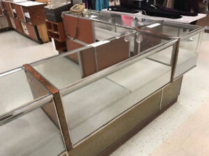 Glass Display Cases, Shelving, Peg, Slat & Gridwall & More!!