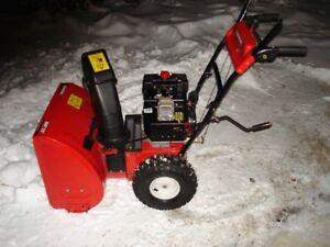 MTD Yard Machines 8/24 Electric Start Snowblower Mint Condition