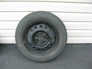 Tire rims -black