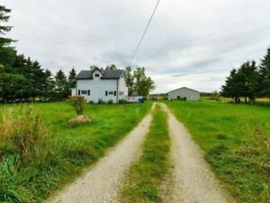 98 Acre Hobby Farm with 1 1/2 Storey Detached Home