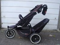 PHIL AND TEDS SPORTS DOUBLE BUGGY.