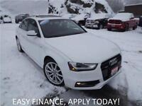 2015 Audi A4 2.0T S-LINE!! QUATTRO AWD!! HEATED LEATHER!! NAVIGA