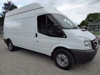 2012 Ford Transit T350L 115 RWD Panel Van, Long Wheel Base, High Roof, Excellent Condition, No Vat!!