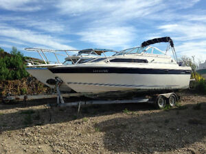 1986 26 foot Cabin Cuddy/Cruiser For Sale or Trade