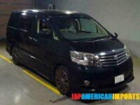 FRESH IMPORT LATE 2007/7 FACE LIFT TOYOTA ALPHARD ESTIMA 3.0 VVTI AUTO SUNROOF B