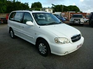 2005 Kia Carnival MY04 LS White Automatic Wagon Townsville Townsville City Preview