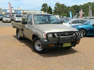 2003 Toyota Hilux RZN149R Workmate Gold 5 Speed Manual Cab Chassis
