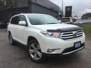 2012 Toyota Highlander V6 - LEATHER - 7 SEATER