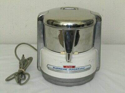 ACME SUPREME JUICERATOR MODEL # 6001 - Motor Unit Only - READ