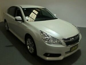 2015 Subaru Liberty MY14 2.5I White Continuous Variable Sedan Kooringal Wagga Wagga City Preview