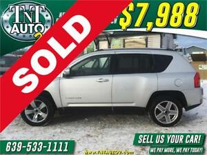2011 JEEP COMPASS NORTH EDITION 4X4-HEATED SEATS-FOG LIGHTS!
