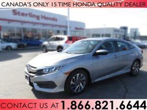 2016 Honda Civic Sedan EX   HONDA CERTIFIED   1 OWNER   NO ACCID
