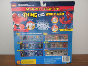 vintage Thing and Spiderman action figures IN PACKAGE! Kitchener / Waterloo Kitchener Area image 2