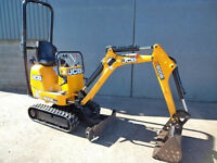 JCB 8008 CTS MICRO DIGGER EXCAVATOR 2011