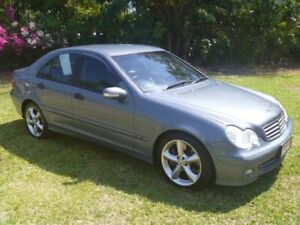2005 Mercedes-Benz C180 Kompressor W203 MY2006 Classic Grey 5 Speed Automatic Sedan Winnellie Darwin City Preview