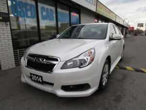 2014 Subaru Legacy Sedan AWD, 1 OWNER,NO ACCIDENT,CERTFIED,CLEAN