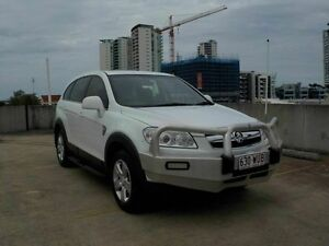 2009 Holden Captiva CG MY10 SX AWD White 5 Speed Sports Automatic Wagon Southport Gold Coast City Preview