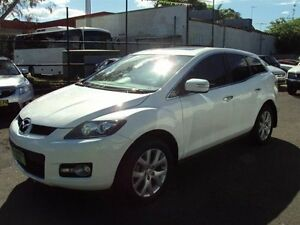 2008 Mazda CX-7 ER Luxury (4x4) White Pearl 6 Speed Auto Activematic Wagon Punchbowl Canterbury Area Preview