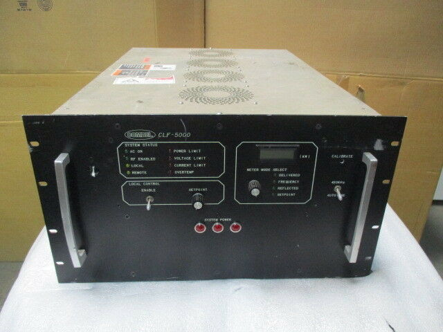 Comdel CLF-5000/400, RF Generator. CLF-5000 Low Frequency 422969