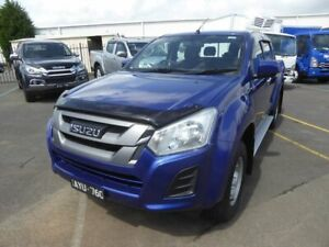 2018 Isuzu D-MAX MY18 SX Crew Cab Blue 6 Speed Sports Automatic Utility Dandenong Greater Dandenong Preview