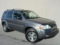 2003 Ford Escape Limited 4X4. Loaded! Leather! P.Sunroof!