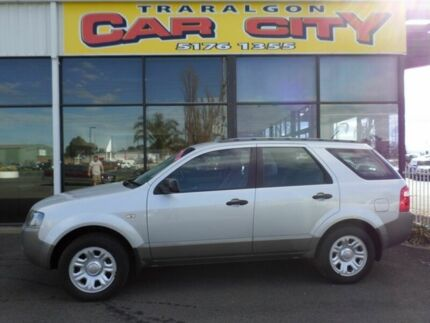 2008 Ford Territory SY TX Silver Automatic Wagon Traralgon Latrobe Valley Preview