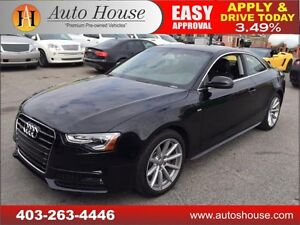 2015 AUDI A5 2.0 TURBO SLINE QUATTRO NAVIGATION 90DAYNOPAYMENTS