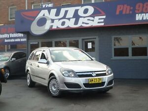 2006 Holden Astra AH MY07 CD Silver 4 Speed Automatic Wagon Clyde Parramatta Area Preview