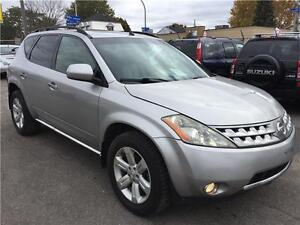 2006 NISSAN MURANO 3.5SL AWD AUTOMATIQUE-CUIR-TOIT SPECIAL 3950$