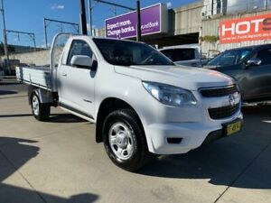 2015 Holden Colorado RG MY15 LS White Sports Automatic Cab Chassis Granville Parramatta Area Preview
