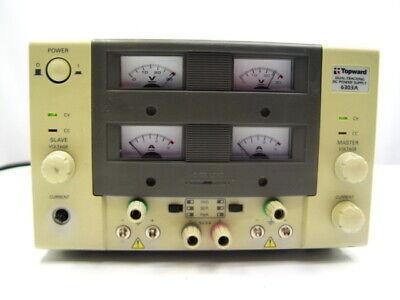 Topward 6303a Dual Tracking Dc Power Supply