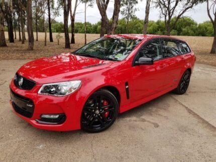 2017 Holden Commodore VF II MY17 SS V Sportwagon Redline Red 6 Speed Sports Automatic Wagon