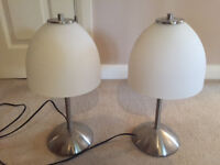 Small Bedside Lights - pair