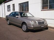 1997 Mercedes-Benz E320 W210 Elegance Smoke Silver 5 Speed Automatic Sedan Petersham Marrickville Area Preview