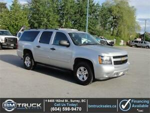 2014 CHEVROLET SUBURBAN 1500 LS LOADED 4X4 9 PASSENGER