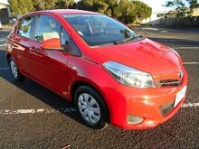 2013 Toyota Yaris NCP130R YR Red 4 Speed Automatic Hatchback Maidstone Maribyrnong Area Preview
