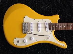 Rare Yamaha EGV103C Samurai Electric Guitar in Highlighter Yellow Ormeau Gold Coast North Preview