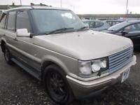 LAND ROVER RANGE ROVER 2.5 DSE 4dr Auto (gold) 1998
