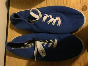 Soulier bleu royal