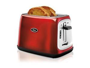 Oster 2 Slice Toaster Red Metalic - $30