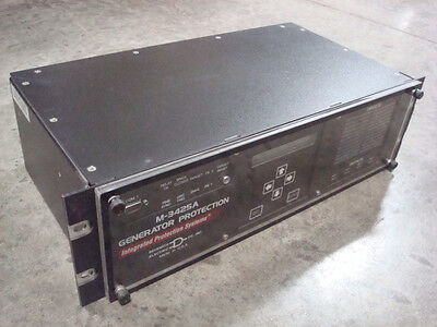Used Beckwith Electric M-3425a A3de Integrated Generator Protection Module