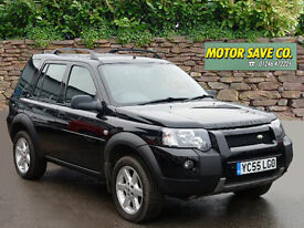 LAND ROVER FREELANDER 2.0 Td4 Adventurer Station Wagon (black) 2005