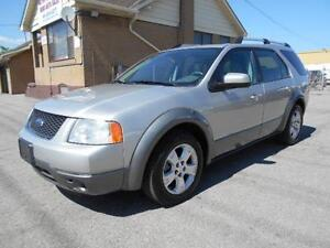 2007 FORD Freestyle SEL 3.0L FWD 7Passenger Leather Sunroof DVD