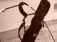 Golf Bag with double strap.