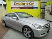 2009 Mercedes-Benz E350 C207 Avantgarde 7G-Tronic Silver 7 Speed Sports Automatic Coupe Bundall Gold Coast City Preview
