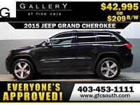 2015 JEEP GRAND CHEROKEE 4X4 *EVERYONE APPROVED* $0 DOWN $209/BW